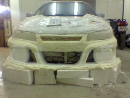 Бампер для автомобиля уаз своими руками